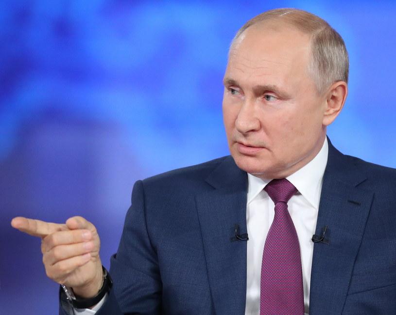 Władimir Putin //SERGEI SAVOSTYANOV /SPUTNIK/ KREMLIN POOL /PAP/EPA