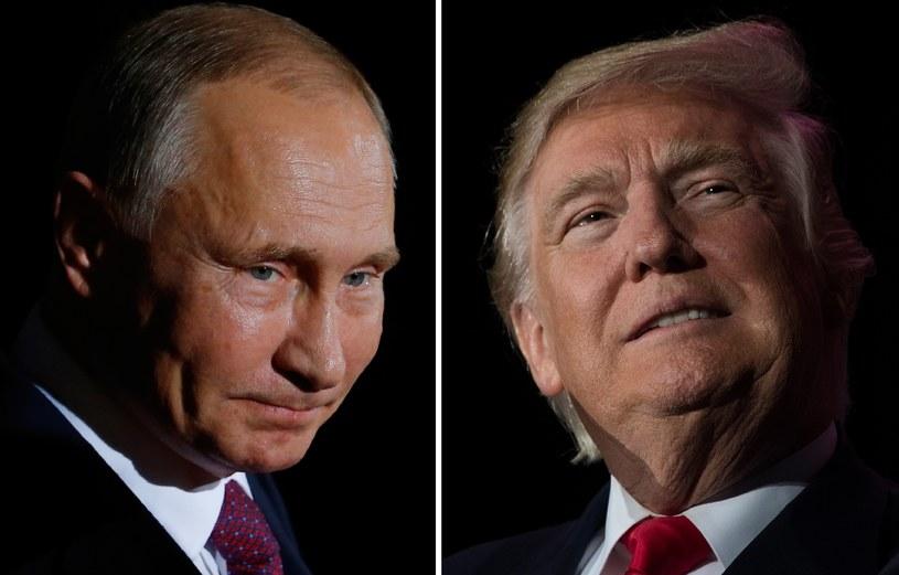 Władimr Putin i Donalda Trump /AFP