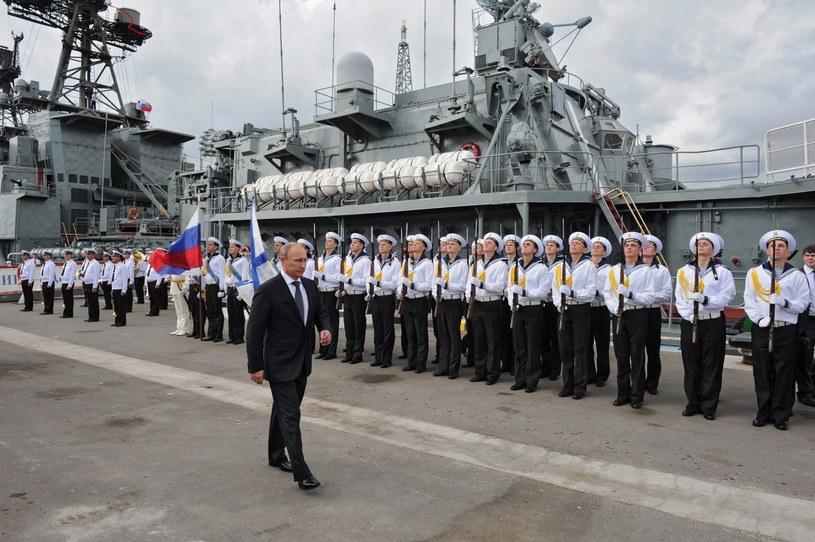 Władmir Putin z wizytą w Noworosyjsku /AFP