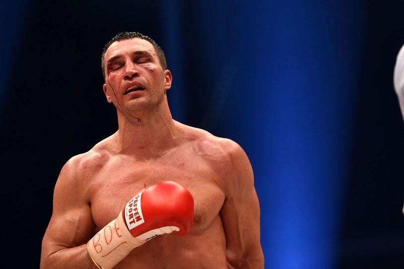 Władymir Kliczko po walce z Tysonem Furym /AFP