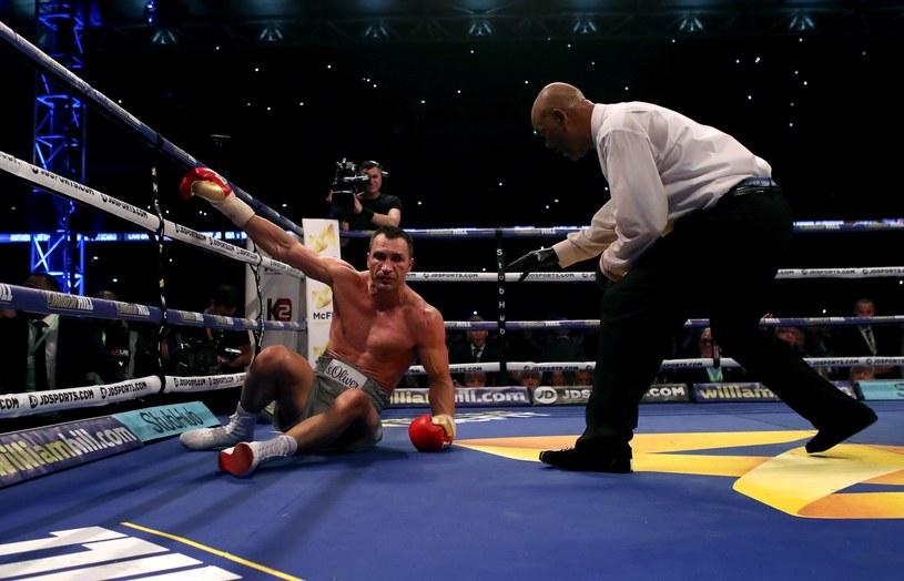 Władymir Kliczko przegrał z Anthonym Joshuą po fantastycznej walce /fot. Nick Potts /East News