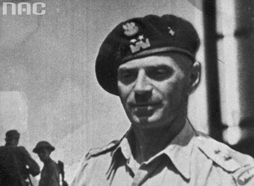 Władysław Anders, generał dywizji i dowódca 2 Korpusu Polskiego /Z archiwum Narodowego Archiwum Cyfrowego