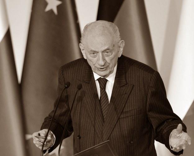 Władysław Bartoszewski (1922-2015) /AFP