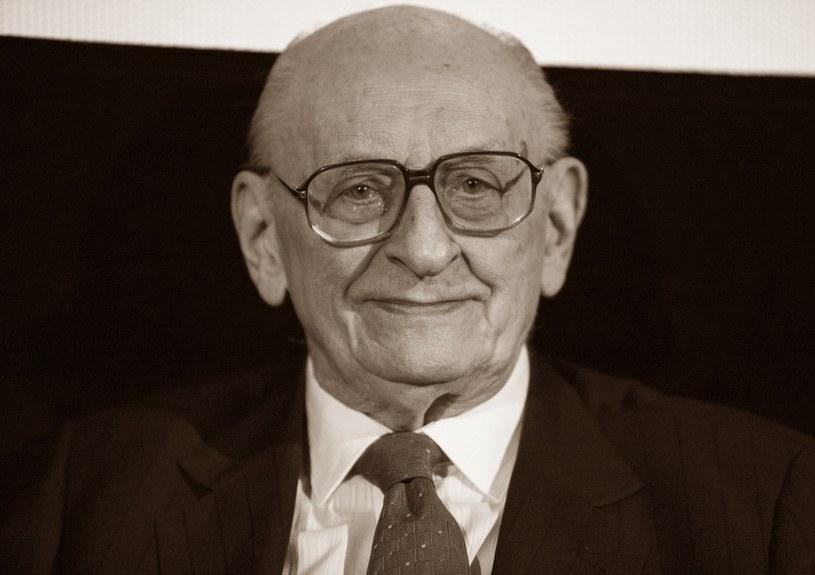 Władysław Bartoszewski zmarł w wieku 93 lat /Andrzej Hulimka  /East News