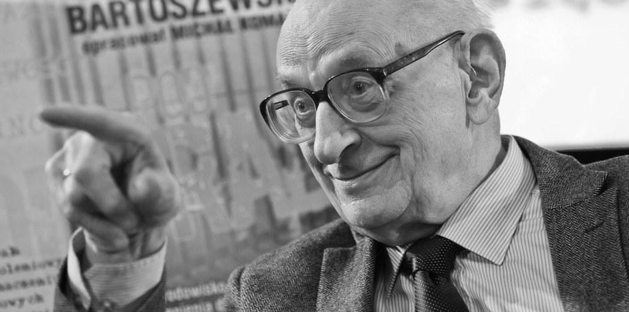 Władysław Bartoszewski /PAP/Rafał Guz /PAP