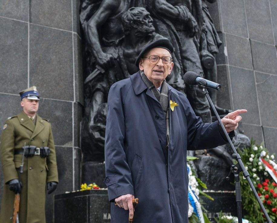 Władysław Bartoszewski / Jakub Kamiński    /PAP