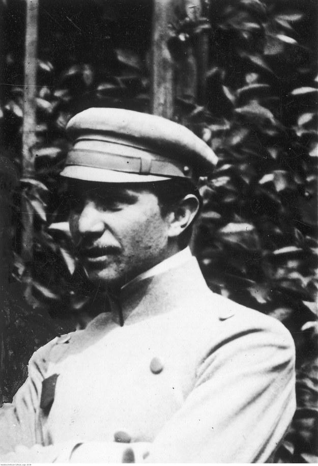 Władysław Belina-Prażmowski, oficer Legionów Polskich /Z archiwum Narodowego Archiwum Cyfrowego
