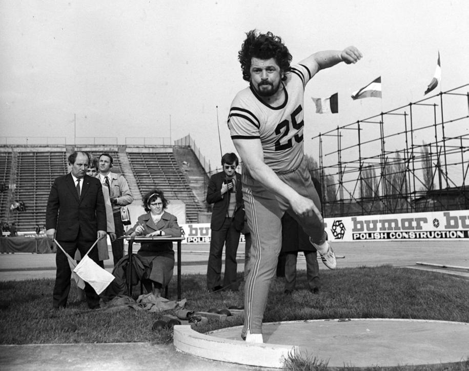 Władysław Komar na zdjęciu z 1972 roku /CAF-ARCHIWUM /PAP