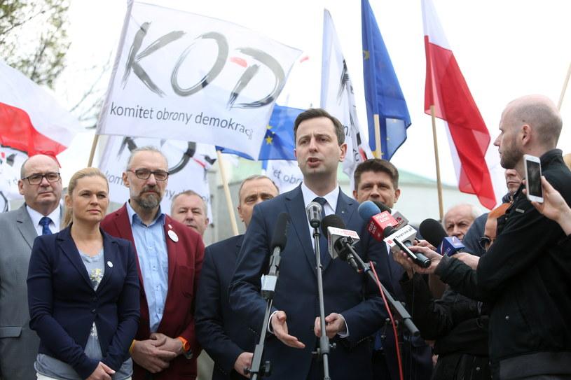 Władysław Kosiniak- Kamysz (C) /Leszek Szymański /PAP