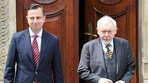Władysław Kosiniak-Kamysz i Jacek Majchrowski /Jacek Bednarczyk   /PAP