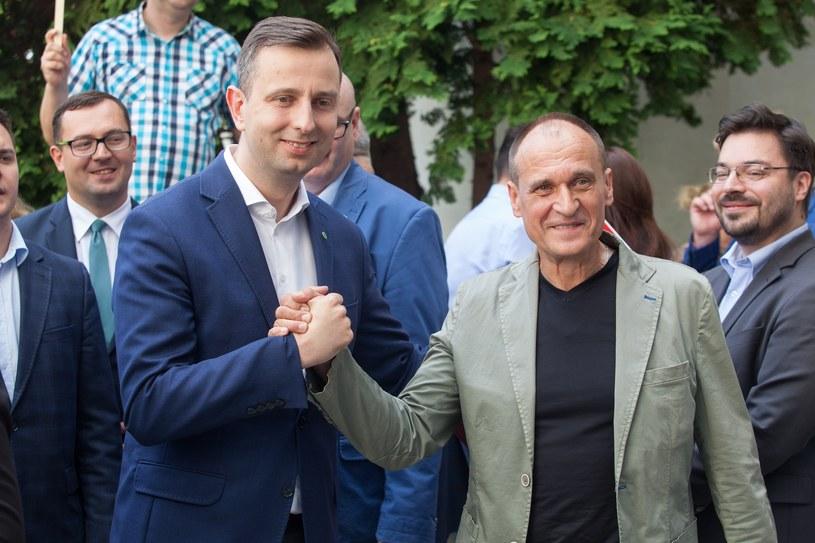 Władysław Kosiniak-Kamysz i Paweł Kukiz /Stefan Maszewski /Reporter