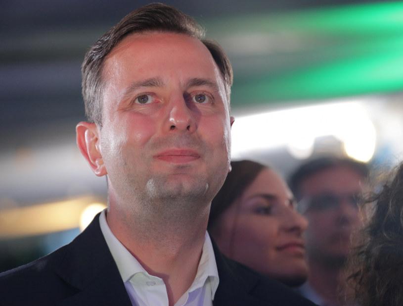 Władysław Kosiniak-Kamysz podczas wieczoru wyborczego /Beata Zawadzka/East News /East News