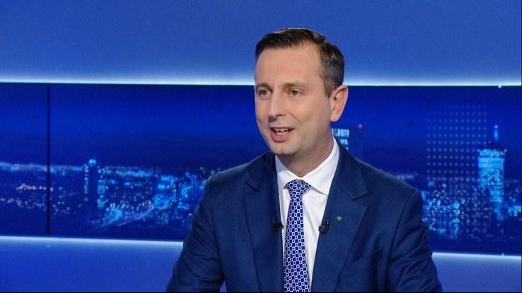 """Władysław Kosiniak-Kamysz w programie """"Gość Wydarzeń"""" /Polsat News"""