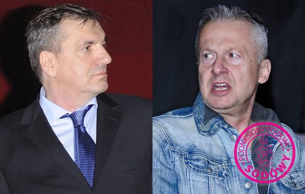Władysław Pasikowski, Bogusław Linda /Jarosław Antoniak, Andras Szilagyi /MWMedia