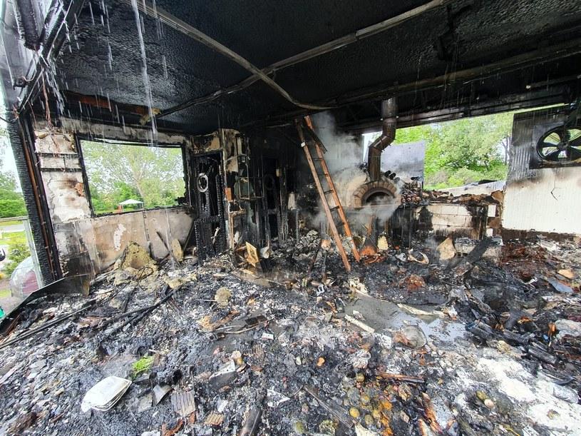 Władysławowo: Spłonęła popularna restauracja /Komenda Powiatowa Państwowej Straży Pożarnej w Pucku /facebook.com
