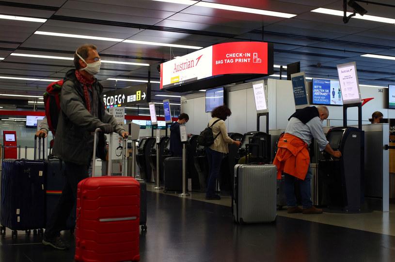 Władze Austrii zawiesiły przyloty z krajów bałkańskich i Egiptu. /Lisi Niesner  /Agencja FORUM