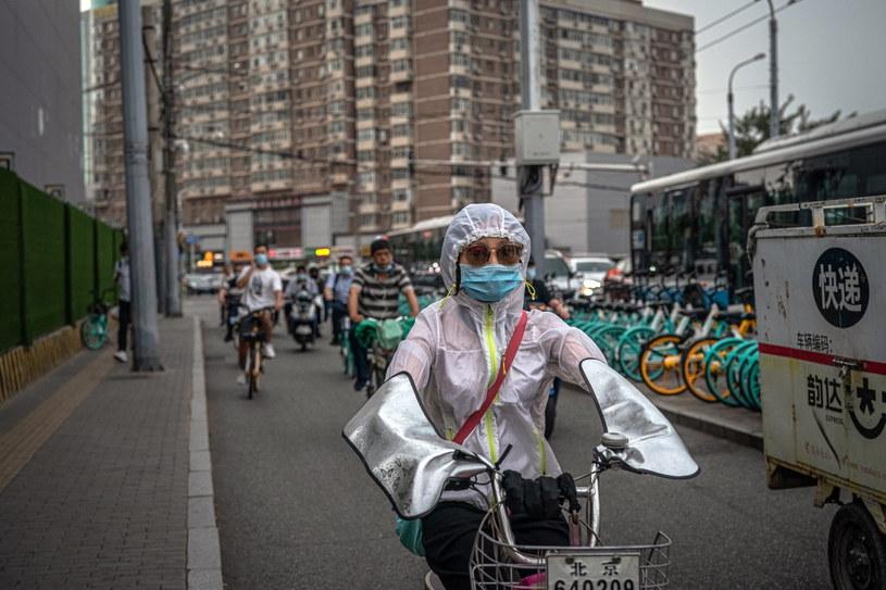 Władze Chin twierdzą, że koronawirus znaleziony na pekińskim targu pochodzi z Europy /ROMAN PILIPEY /PAP/EPA