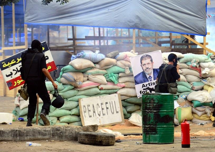 Władze Egiptu ogłosiły stan wyjątkowy w całym kraju. /PAP/EPA