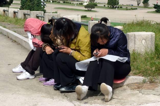 Władze Korei Północnej traktują komórki jak zagrożenie dla swojego bezpieczeństwa /AFP
