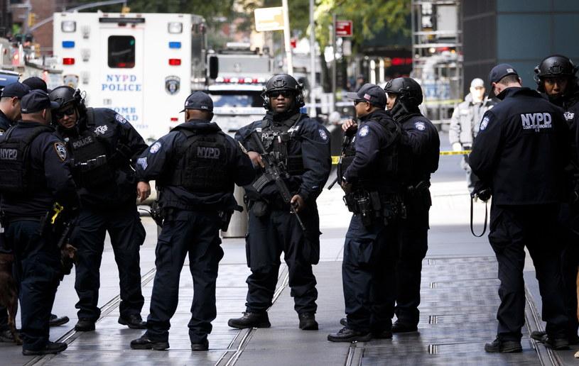 Władze Nowego Jorku zaostrzyły w środę środki bezpieczeństwa /JUSTIN LANE /PAP/EPA
