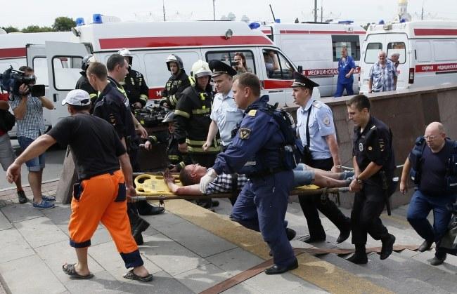 Władze twierdzą, że do wypadku doszło z powodu awarii /YURI KOCHETKOV /PAP/EPA