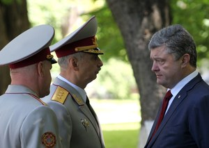 Władze Ukrainy zapowiadają blokadę Ługańska i Doniecka