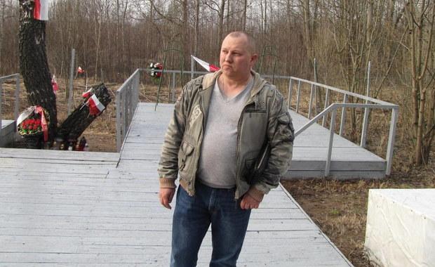 Właściciel terenu, na którym rozbił się prezydencki Tu-154: Tu nie powinno być polityki