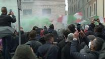Właściciele włoskich firm i pracownicy restauracji protestują w Rzymie