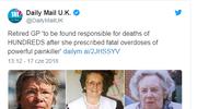 Wlk. Brytania: Emerytowana lekarka przepisywała śmiertelne dawki leków?