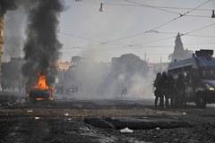 """Włochy: 70 rannych w manifestacji """"oburzonych"""""""