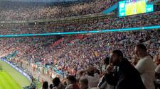 Włochy - Anglia. Radość Włochów po golu! Wideo