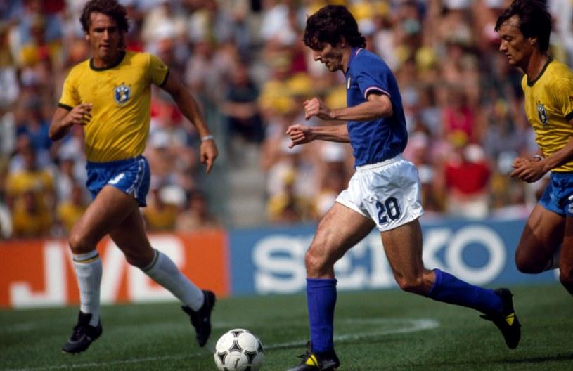 Włochy-Brazylia na Espana'82 /OFFSIDE/NEWSPIX.PL /Newspix