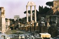 Włochy, Forum Romanum w Rzymie /Encyklopedia Internautica