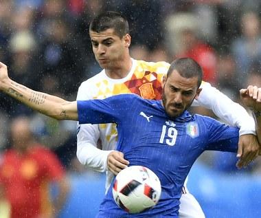 Włochy - Hiszpania 2-0 na Euro 2016. Bonucci: Zasłużyliśmy na zwycięstwo