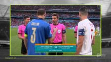 Włochy - Hiszpania. Felix Brych padł ofiara UEFA? Wideo