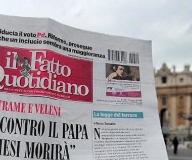Włochy huczą: Spisek na życie Benedykta XVI! Umrze w ciągu roku! Watykan: Brednie, szaleństwo...