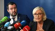 Włochy: Le Pen i Salvini chcą innej UE