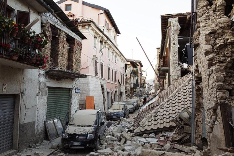 Włochy po trzęsieniu ziemi /ROBERTO SALOMONE /PAP/EPA