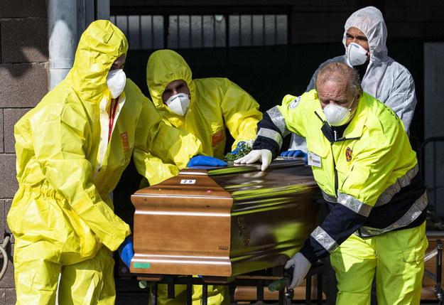 Włochy: Ponad 10 tys. ofiar koronawirusa. W ciągu doby zmarło prawie tysiąc osób