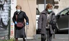 Włochy: Ponad 800 zgonów z powodu koronawirusa w ciągu doby