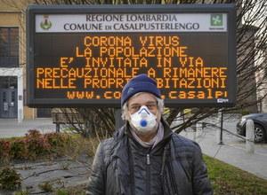 Włochy: Rozszerza się kryzys sanitarny w związku z koronawirusem
