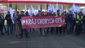 """Włocławek. Protest AgroUnii. """"Kraj chorych cen"""""""
