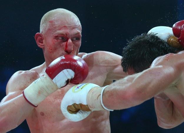 Włodarczyk przegrał w Moskwie jednogłośnie na punkty z Drozdem /Valery Sharifulin /PAP