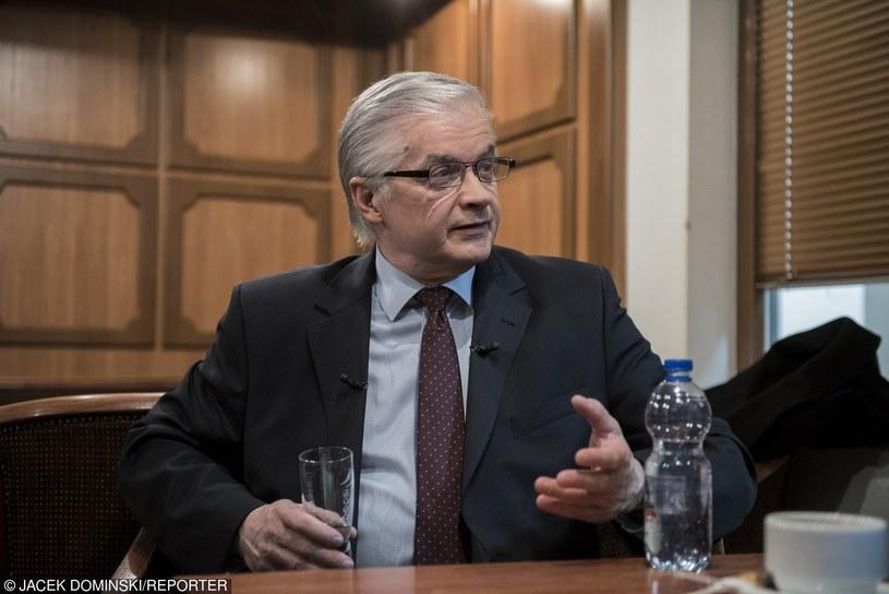 Włodzimierz Cimoszewicz /Jacek Domiński /Reporter