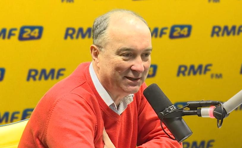 Włodzimierz Czarzasty w RMF FM /RMF