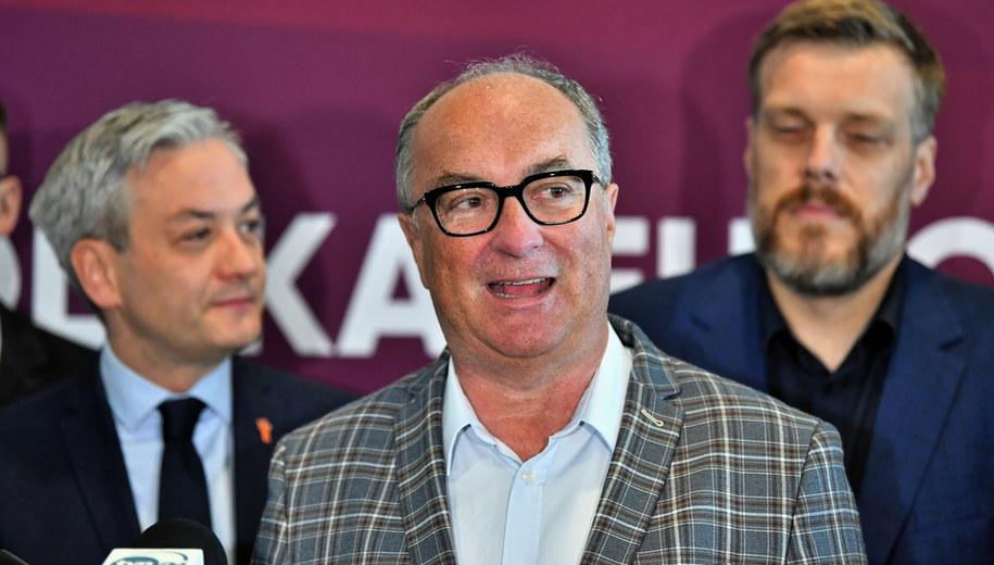 Włodzimierz Czarzasty / Maciej Kulczyński    /PAP