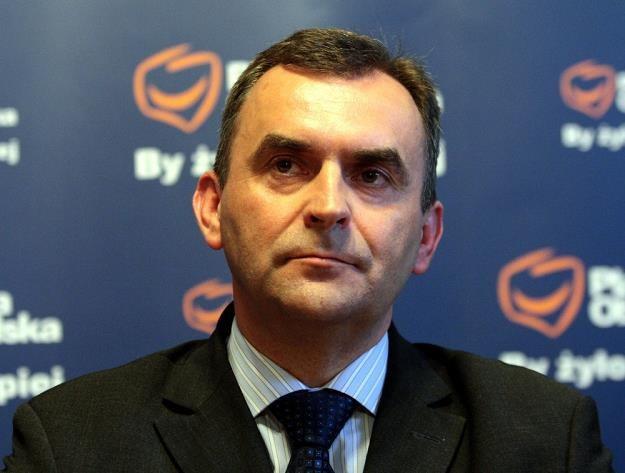 Włodzimierz Karpiński, minister skarbu. Fot. Jakub Orzechowski /Reporter