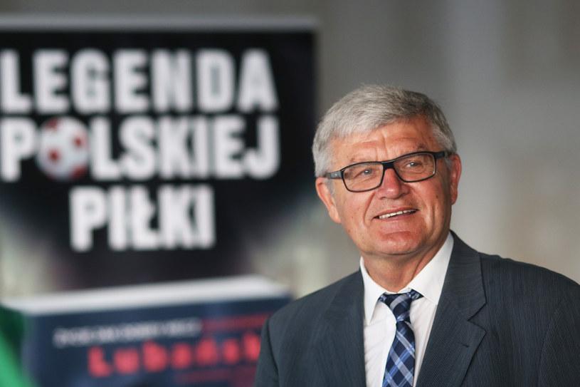 Włodzimierz Lubański, legenda polskiej piłki, najlepszy zawodnik wszech czasów w naszym plebiscycie /Wojciech Figurski /Newspix