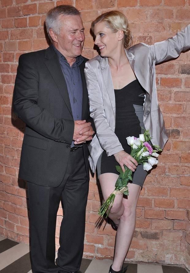Włodzimierz Matuszak i Karolina Nolbrzak, fot. Andras Szilagyi  /MWMedia