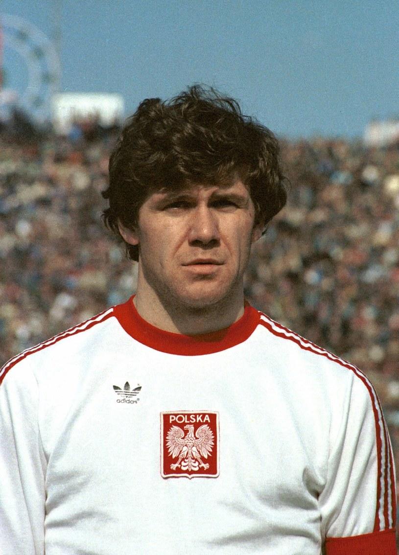 Włodzimierz Smolarek był dumny z gry z Białym Orłem na piersi. /Jan Morek /Agencja FORUM